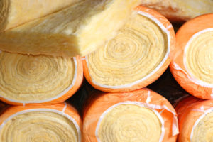 thermal insulation material In rolls laid in packing